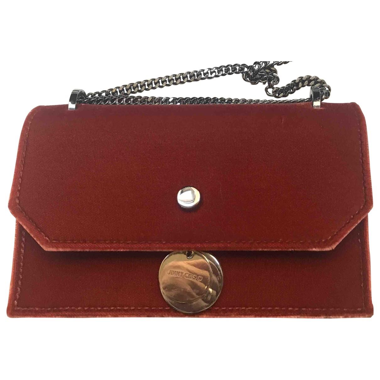 Jimmy Choo \N Velvet Clutch bag for Women \N