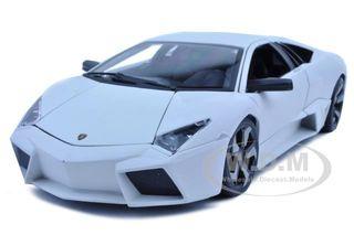 Lamborghini Reventon Matt White 1/18 Diecast Model Car by Bburago