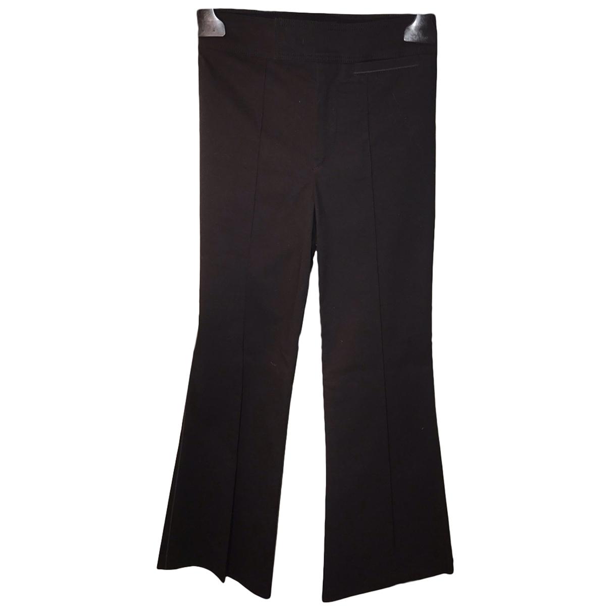 Isabel Marant N Black Cotton Trousers for Women 34 FR