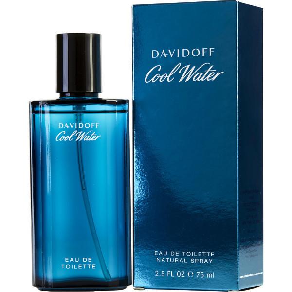 Cool Water Pour Homme - Davidoff Eau de toilette en espray 75 ML