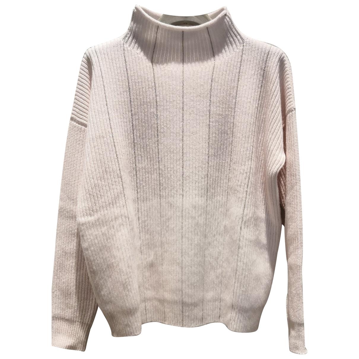 Peserico - Pull   pour femme en laine - blanc