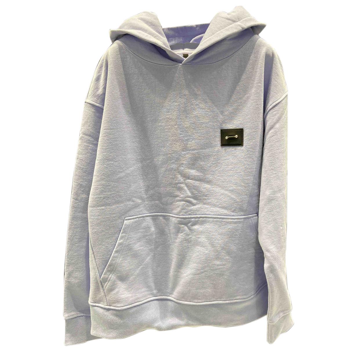 Neil Barrett \N Pullover.Westen.Sweatshirts  in  Lila Baumwolle