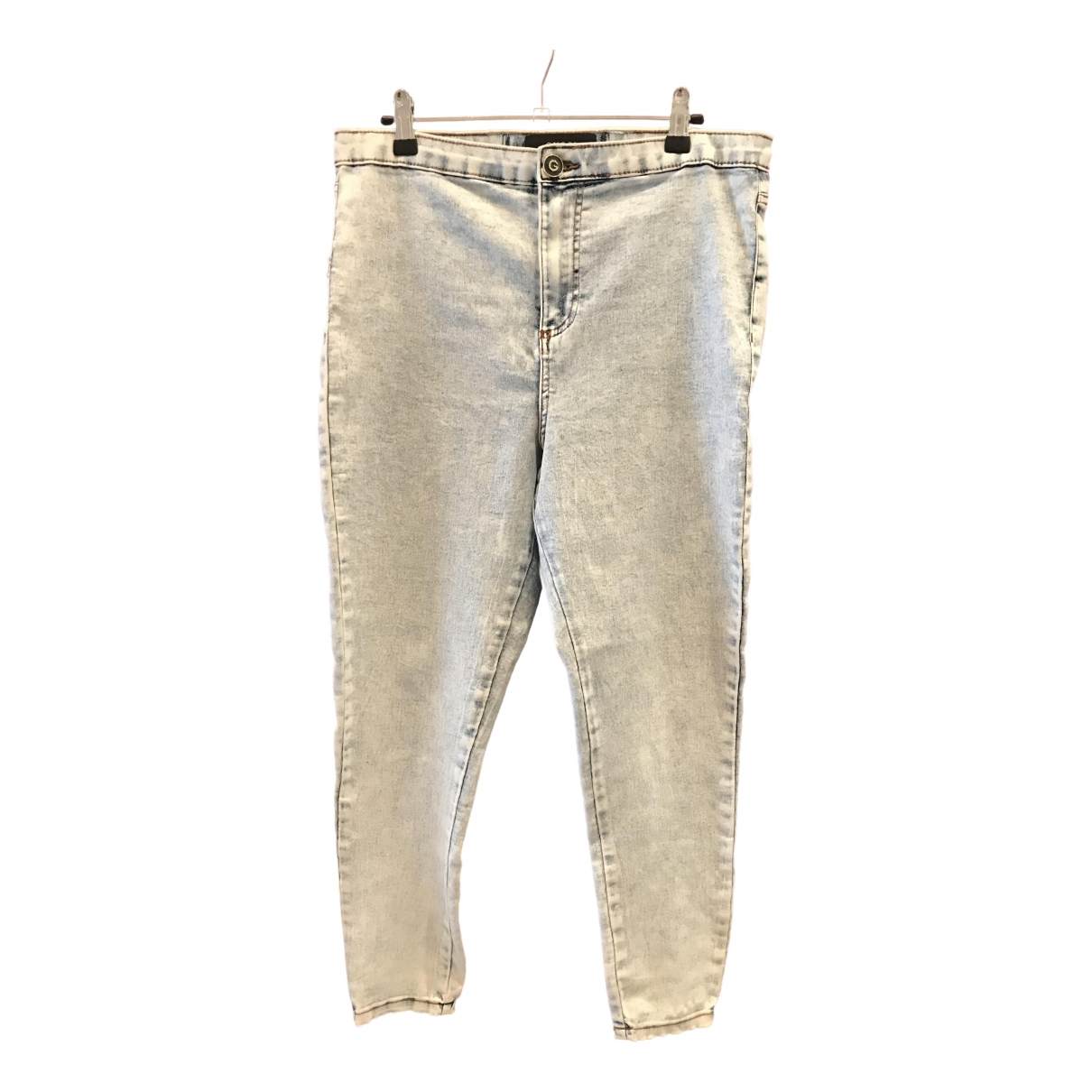 Gucci - Pantalon   pour femme en coton - bleu