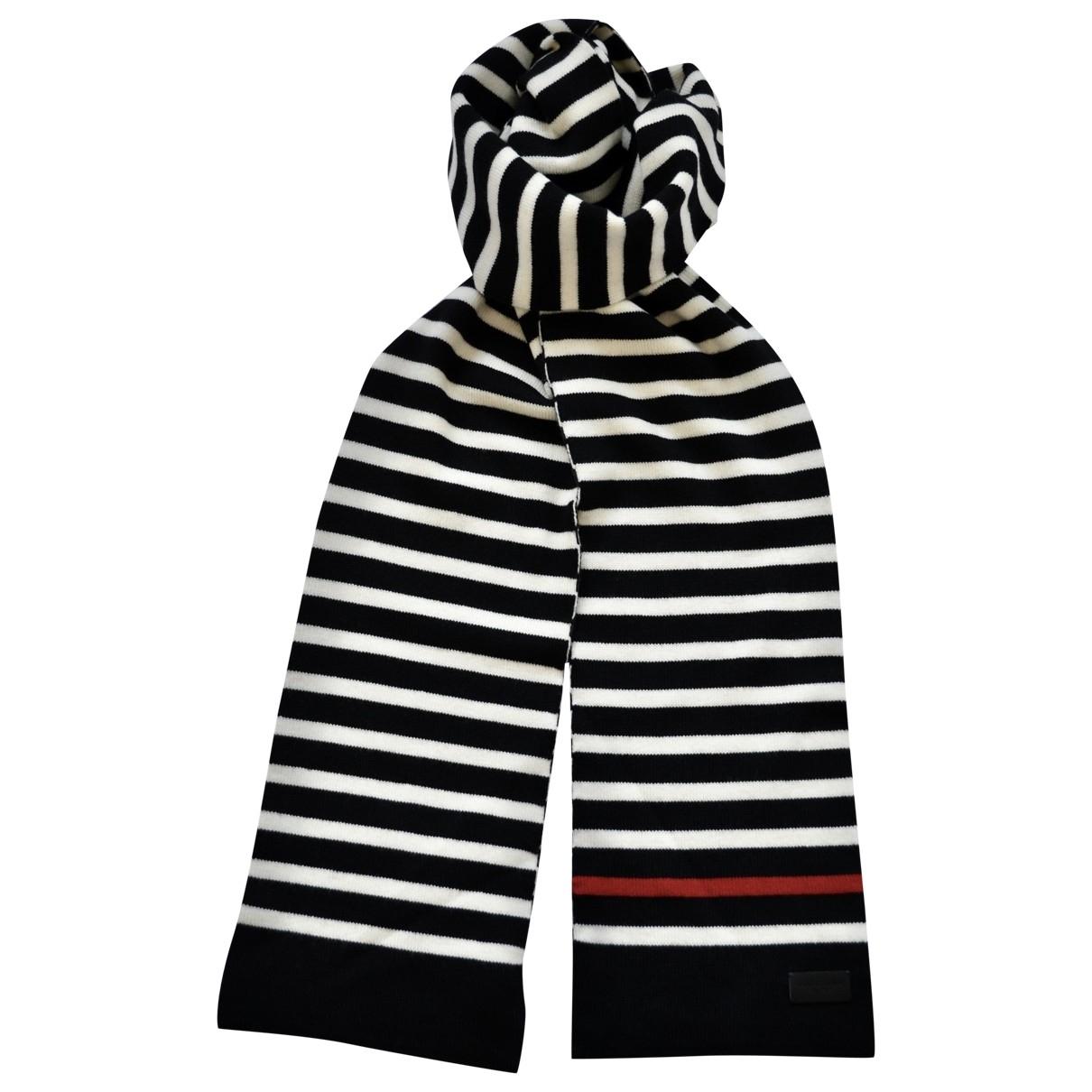 Saint Laurent \N Schal in  Schwarz Wolle