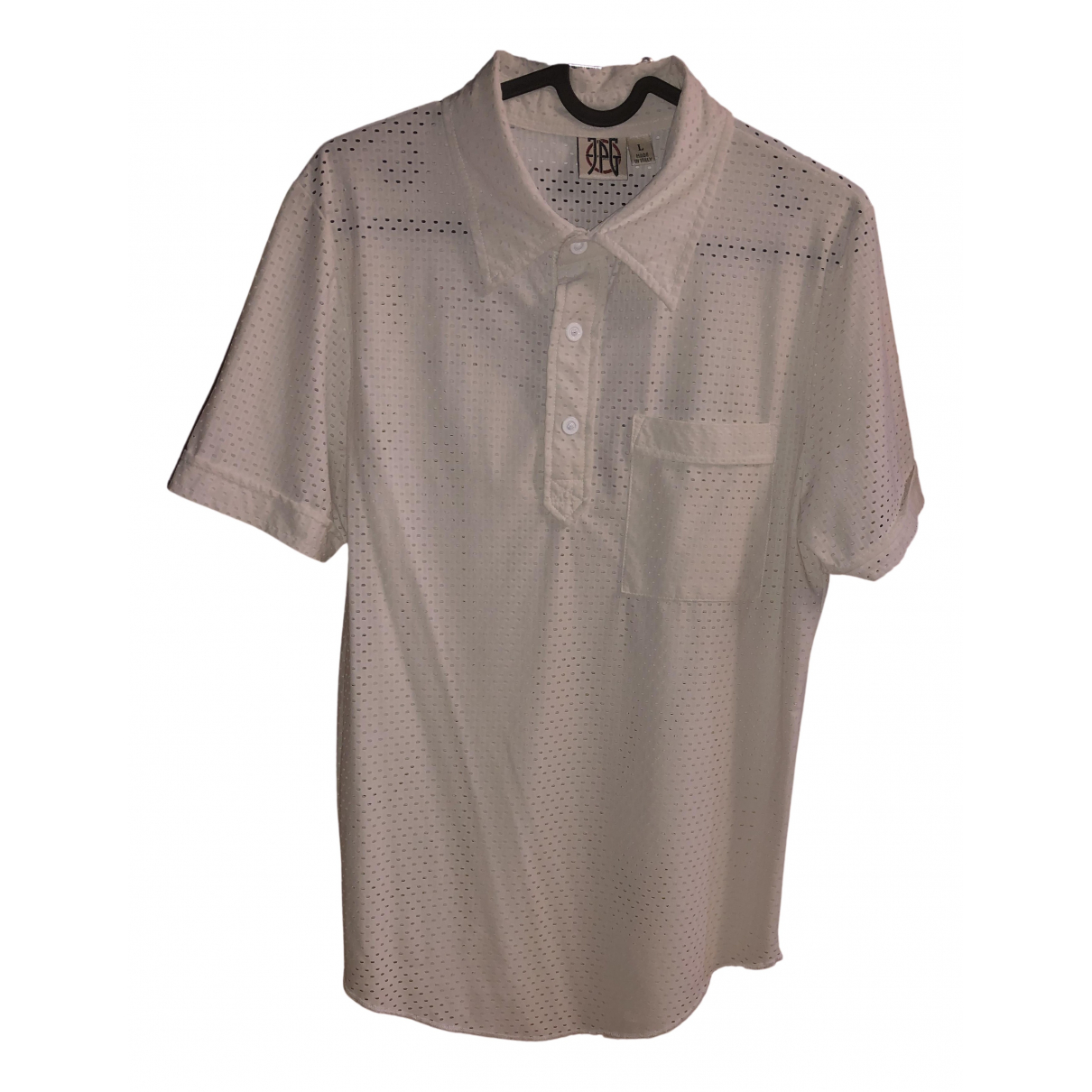 Jean Paul Gaultier \N Poloshirts in  Weiss Polyester