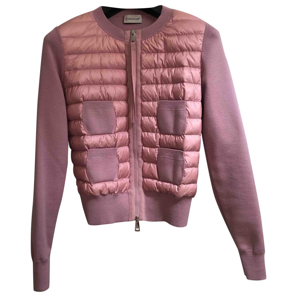 Moncler \N Pink jacket for Women 1 0-5