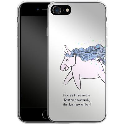 Apple iPhone 7 Silikon Handyhuelle - Sternstaub von caseable Designs