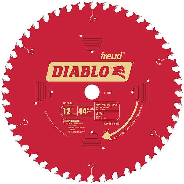 D1244X Diablo General Purpose Blade, 12