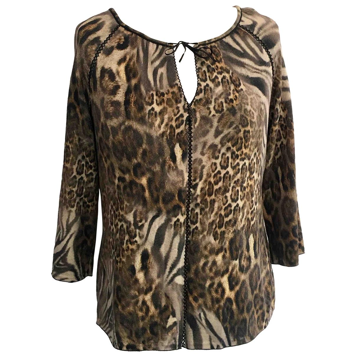 Marc Cain \N Brown Cotton Knitwear for Women 14 UK