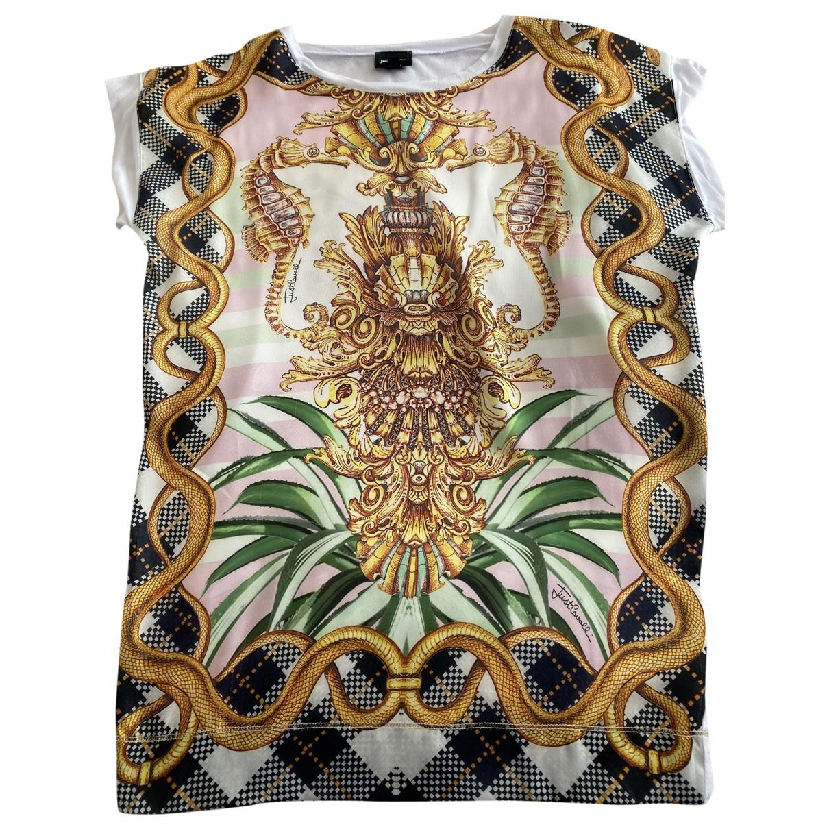 Just Cavalli \N Multicolour Silk  top for Women XS International