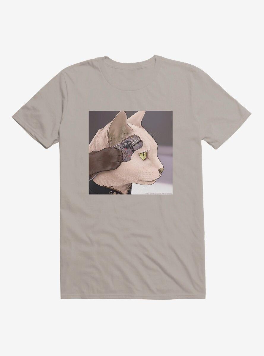 Star Trek The Next Generation Cats Commander Data T-Shirt