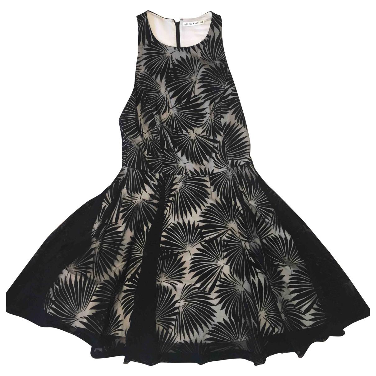 Alice & Olivia \N Black dress for Women 10 UK