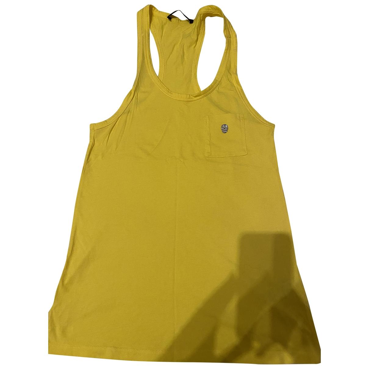 Philipp Plein \N Top in  Gelb Baumwolle