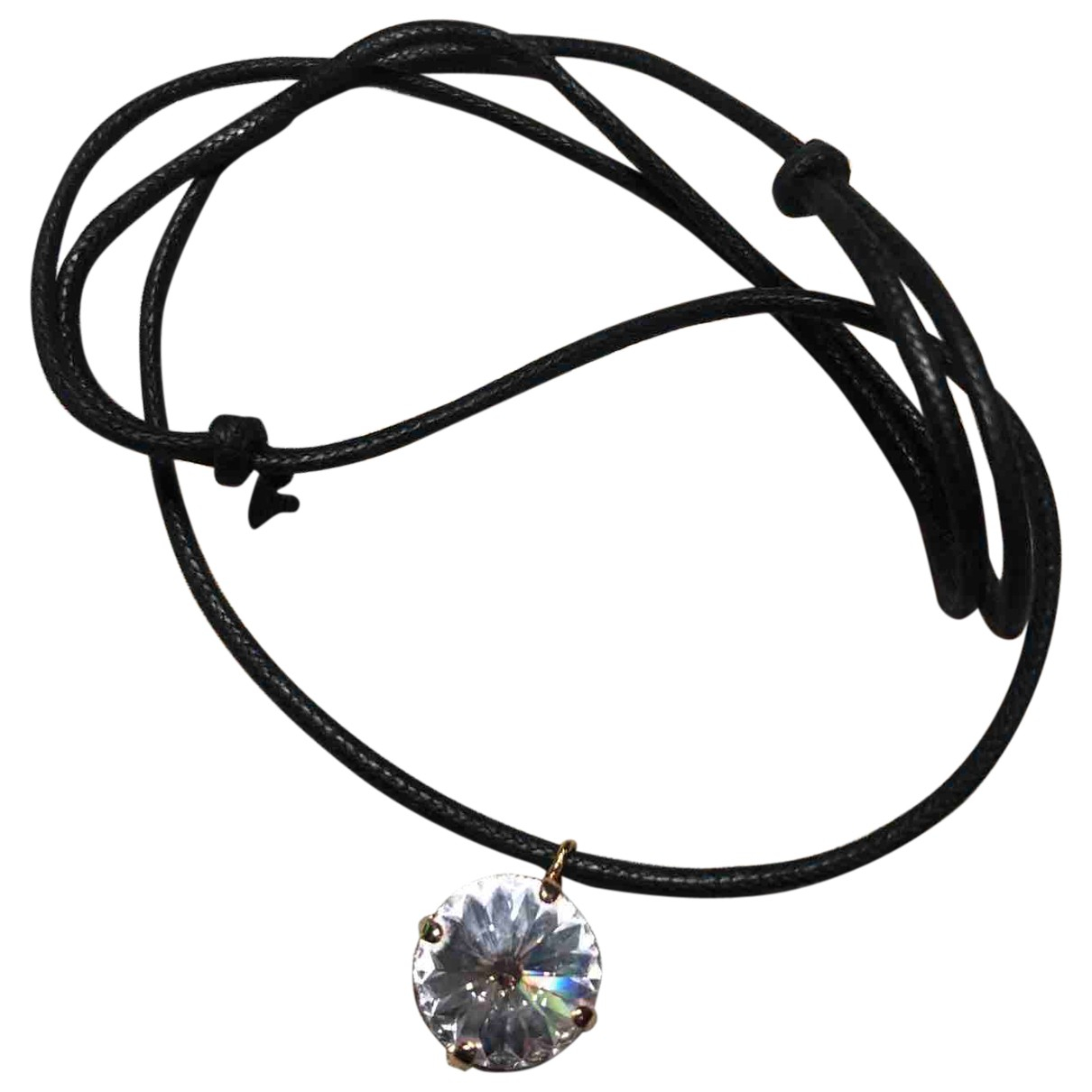 Non Signé / Unsigned N Metal necklace for Women N