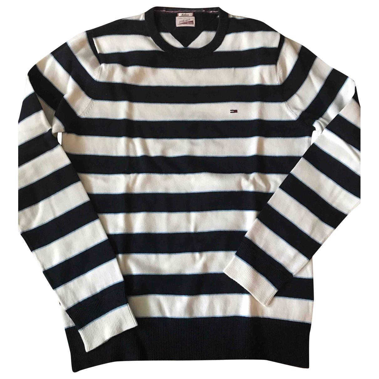 Tommy Hilfiger \N Pullover.Westen.Sweatshirts  in  Weiss Baumwolle