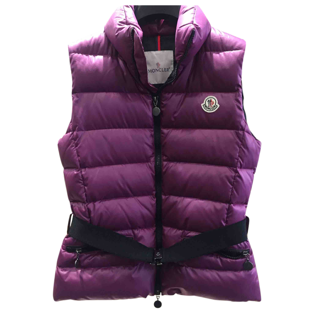 Moncler \N Jacke in  Lila Polyester