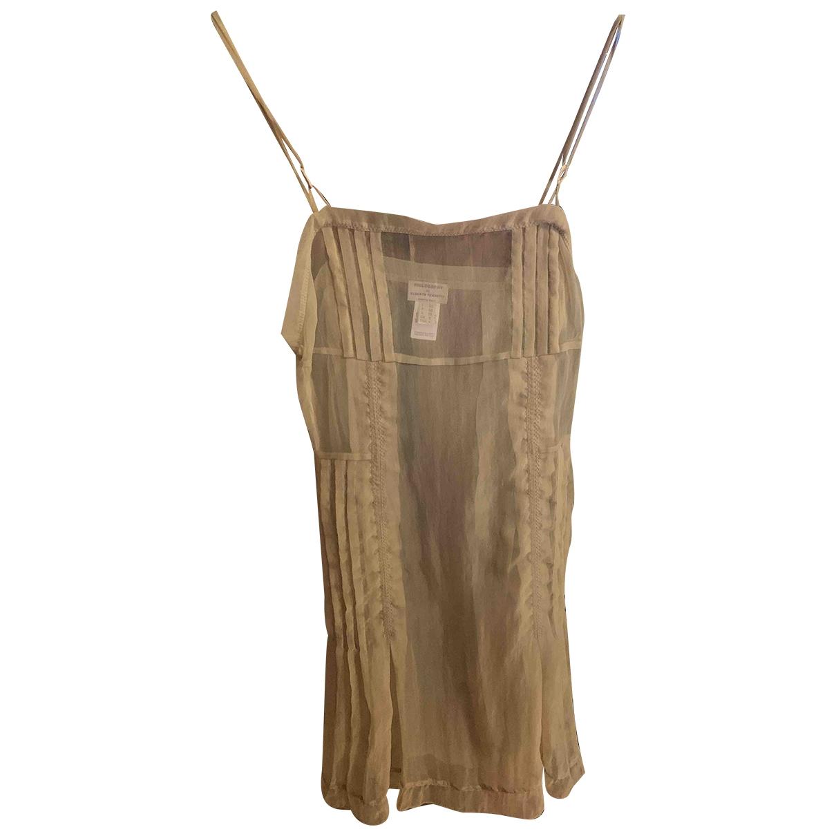 Philosophy Di Alberta Ferretti \N Beige dress for Women 40 IT