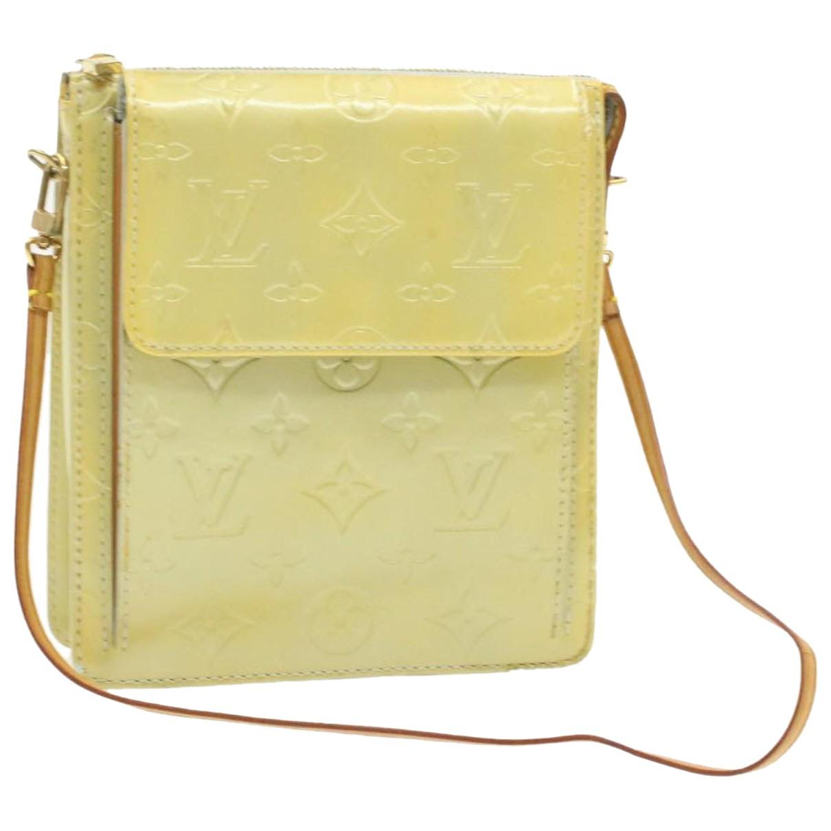 Louis Vuitton - Sac de voyage   pour femme en cuir verni - kaki