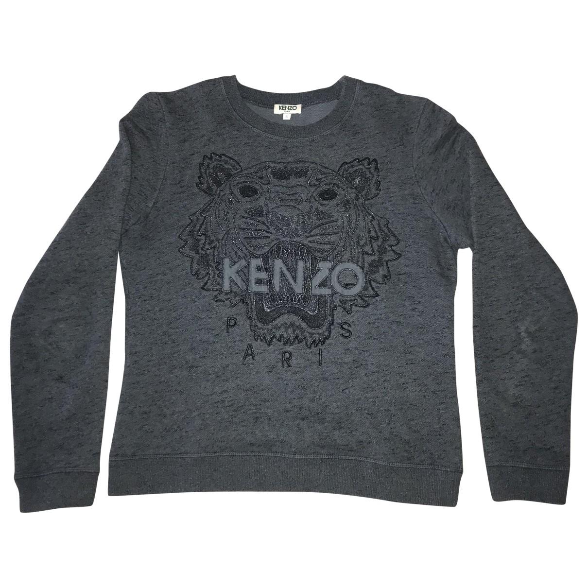 Kenzo \N Anthracite Cotton Knitwear for Women S International