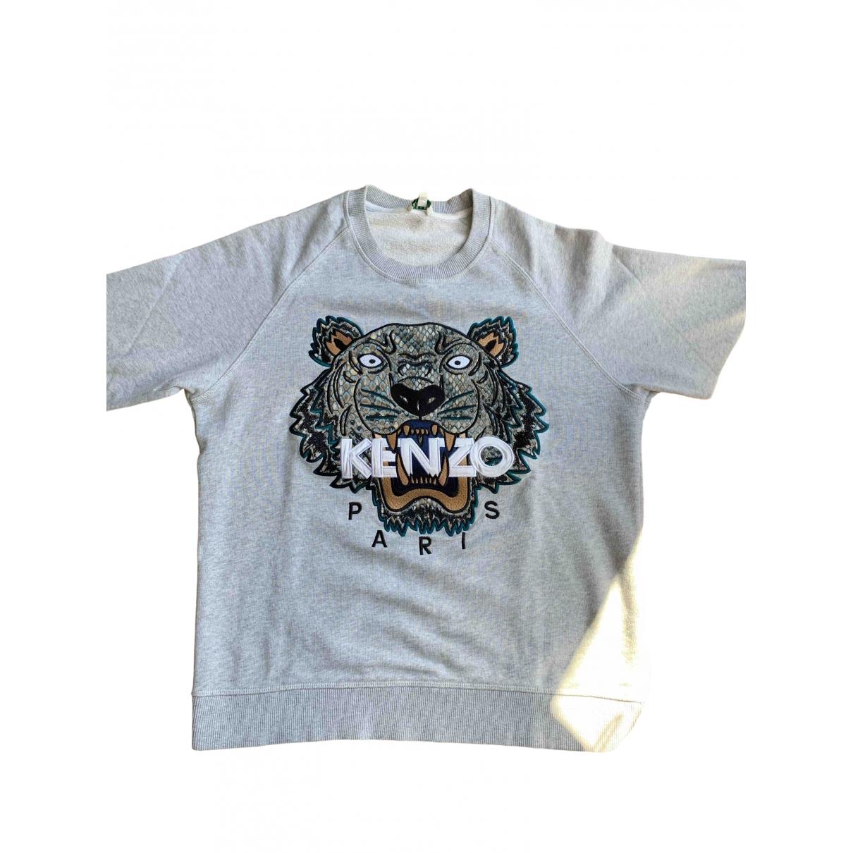 Kenzo \N Grey Cotton Knitwear & Sweatshirts for Men XS International