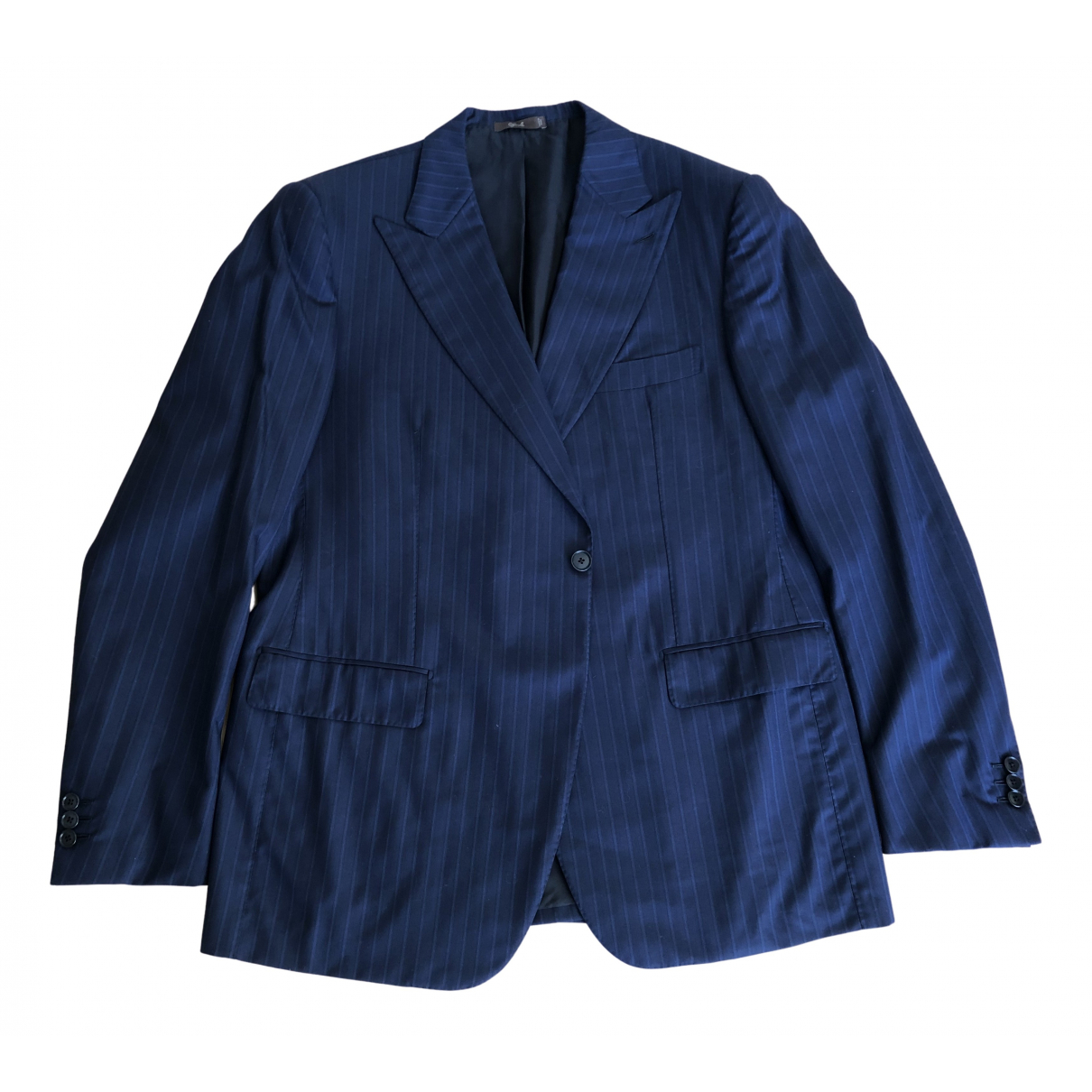 Cifonelli \N Jacke in  Blau Wolle