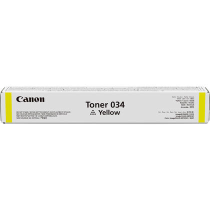 Canon 034 9451B001 cartouche de toner originale jaune