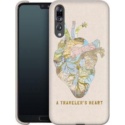 Huawei P20 Pro Smartphone Huelle - A Travelers Heart von Bianca Green
