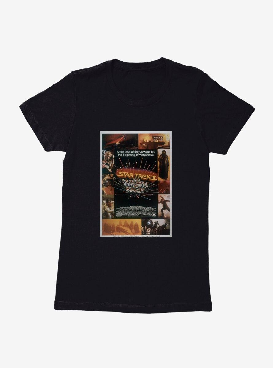 Star Trek The Wrath Of Khan Womens T-Shirt