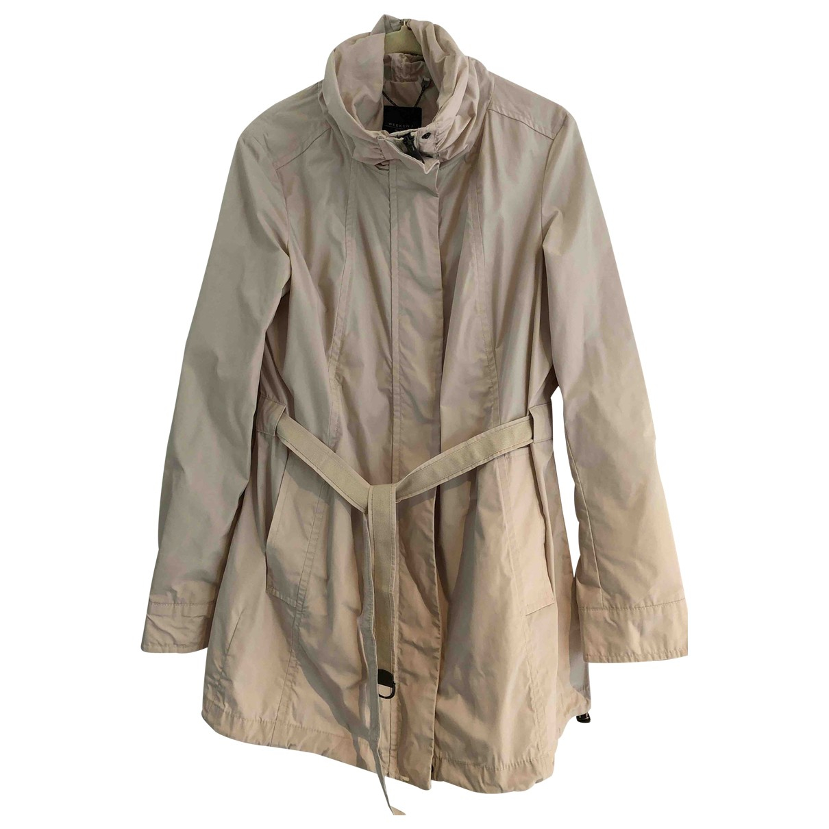 Max Mara Weekend N Beige coat for Women 8 UK