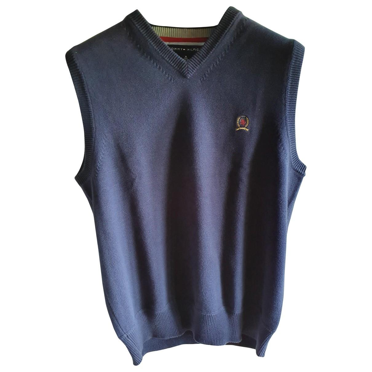 Tommy Hilfiger \N Pullover in  Blau Baumwolle