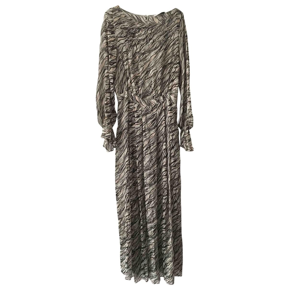 Gerard Darel \N Multicolour Silk dress for Women 40 FR