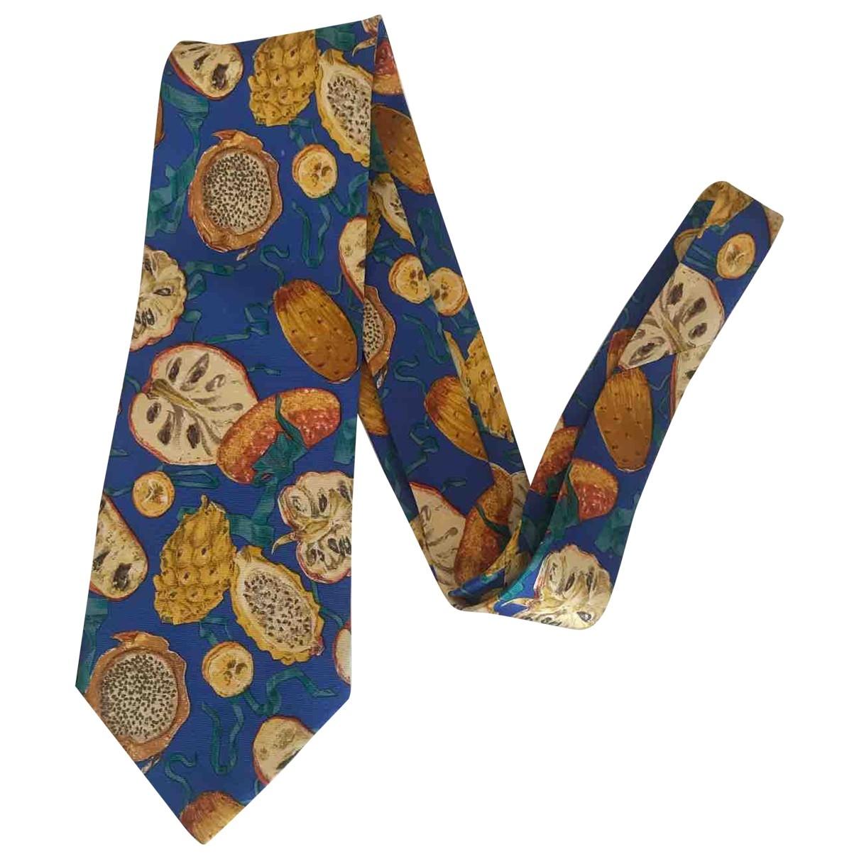 Yves Saint Laurent \N Multicolour Silk Ties for Men \N