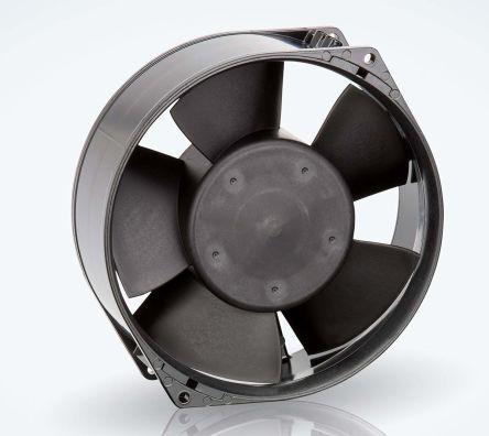 ebm-papst , 24 V dc, DC Axial Fan, 150 x 55mm, 360m³/h, 12W, IP20