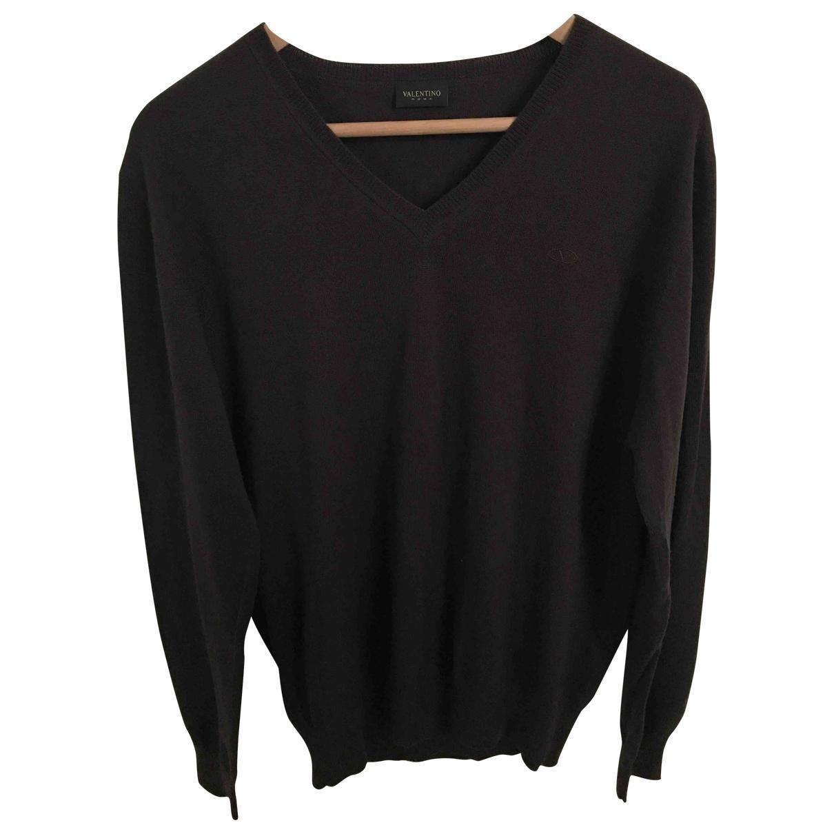 Valentino Garavani - Pulls.Gilets.Sweats   pour homme en laine - marron