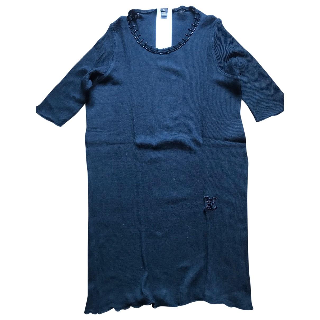 Louis Vuitton - Pull   pour femme en coton - noir