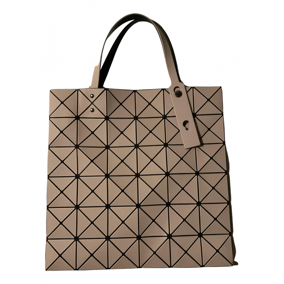Issey Miyake \N Handtasche in  Beige Kunststoff