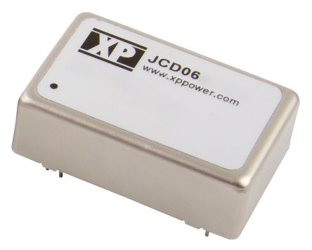 XP Power JCD 6W Isolated DC-DC Converter Through Hole, Voltage in 9 → 18 V dc, Voltage out 9V dc