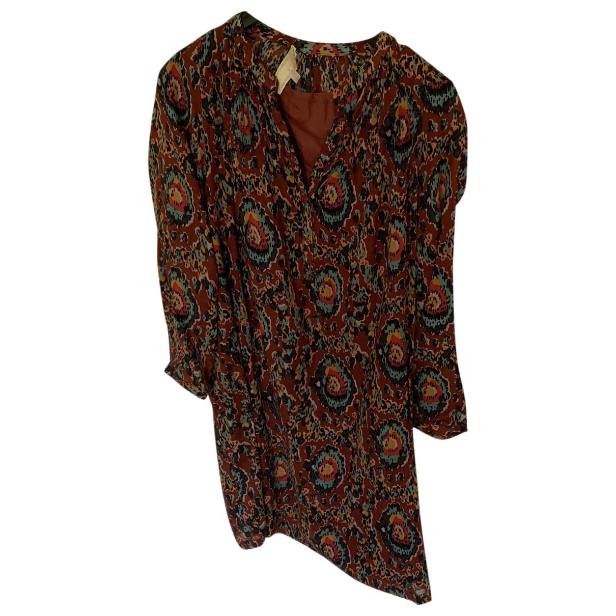 Vanessa Bruno Athe - Robe   pour femme en coton - multicolore