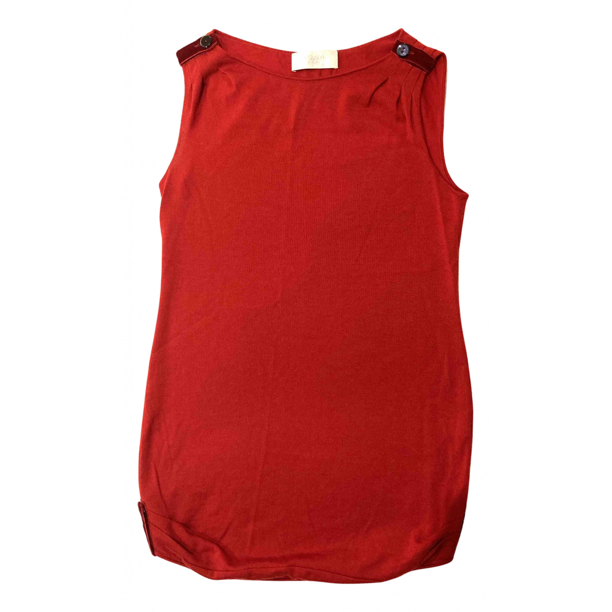 Azzaro \N Kleid in  Rot Wolle