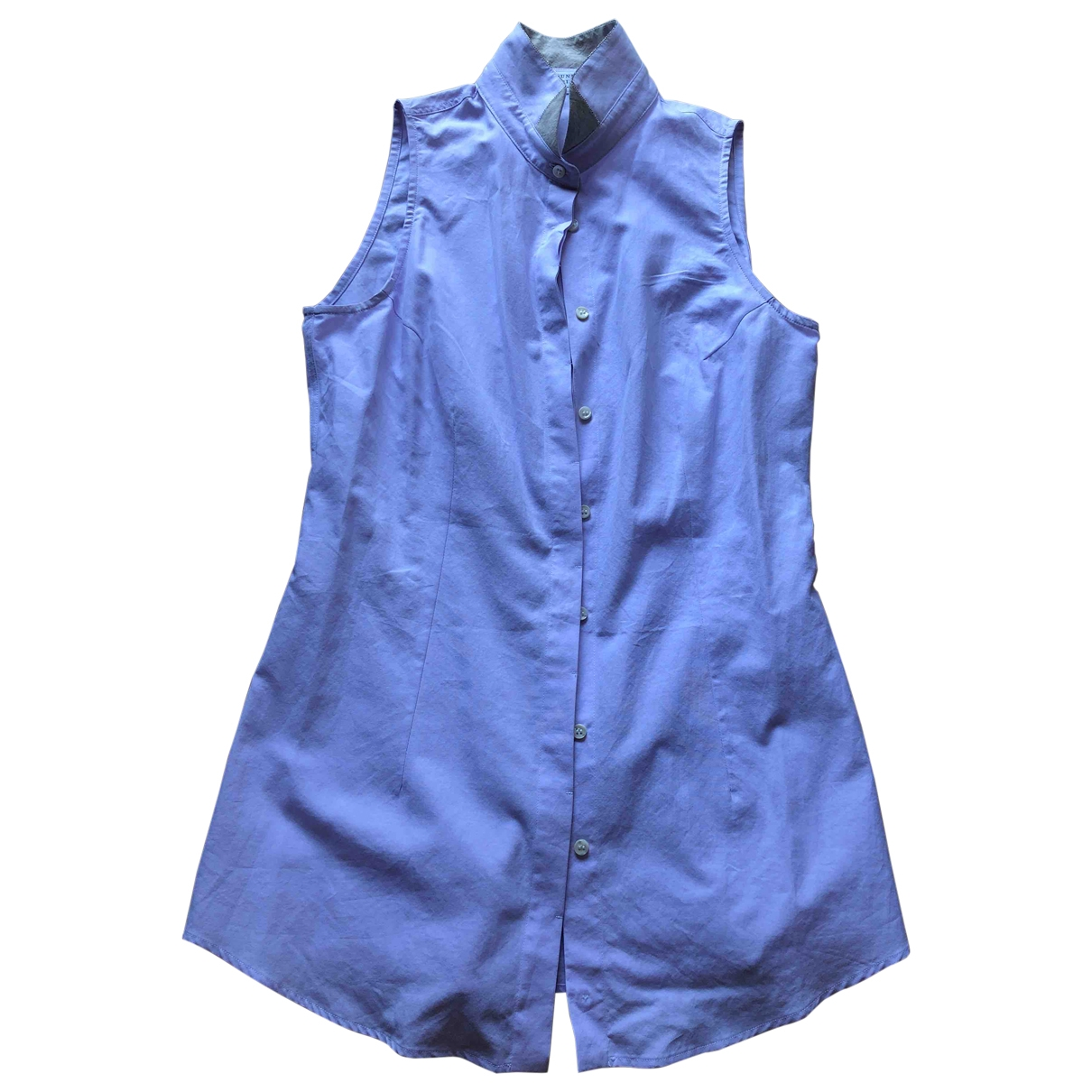 Brunello Cucinelli \N Top in  Blau Baumwolle