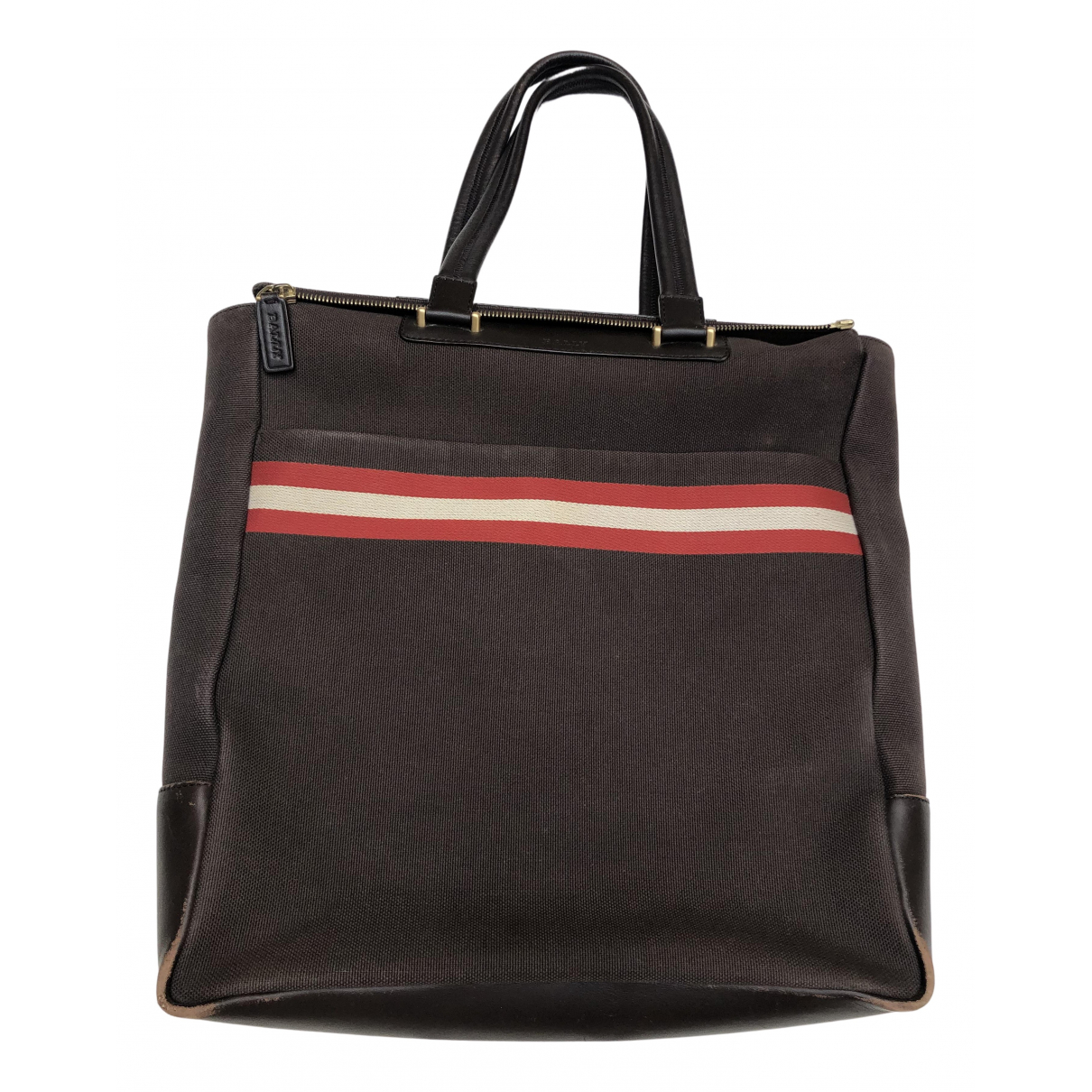 Bally N Brown Cloth bag for Men N