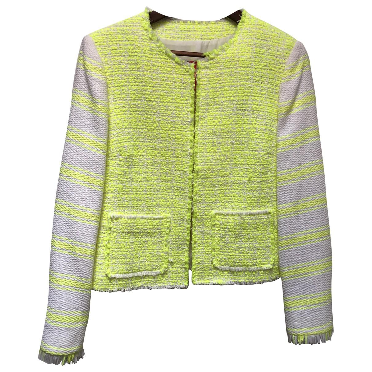 Msgm - Veste   pour femme en coton - jaune