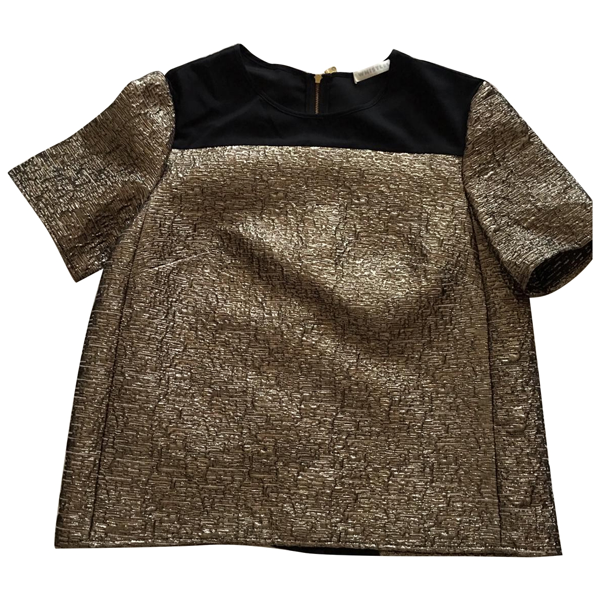 Whistles \N Top in  Gold Polyester