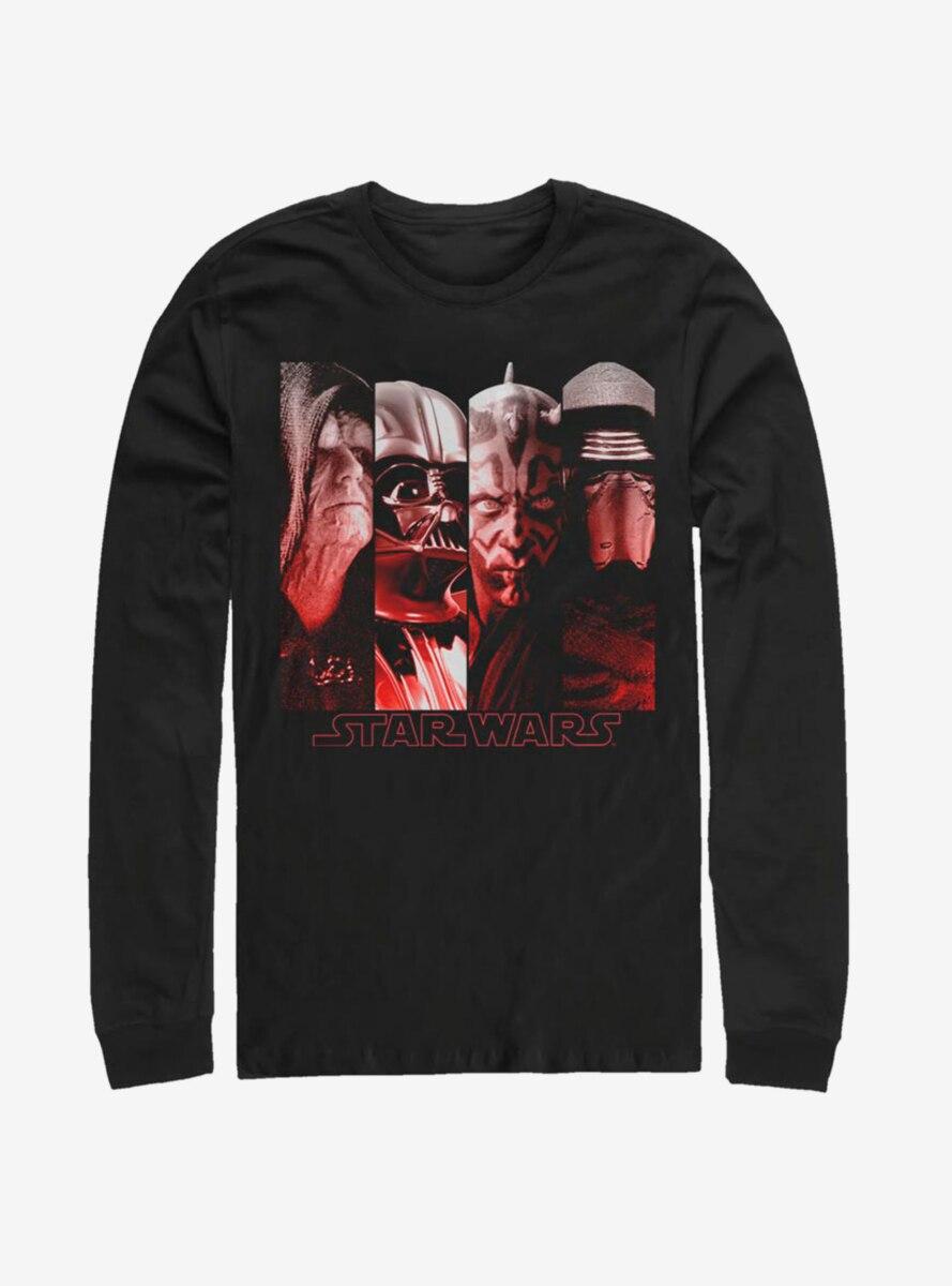 Star Wars Sith Villains Long-Sleeve T-Shirt