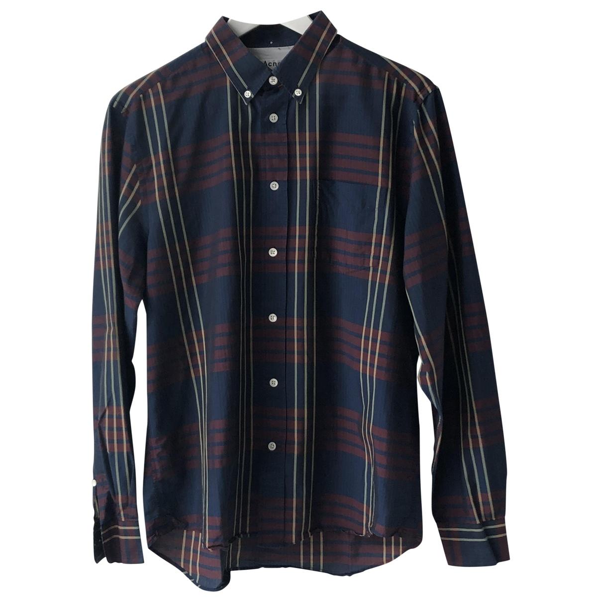 Acne Studios \N Multicolour Cotton Shirts for Men M International