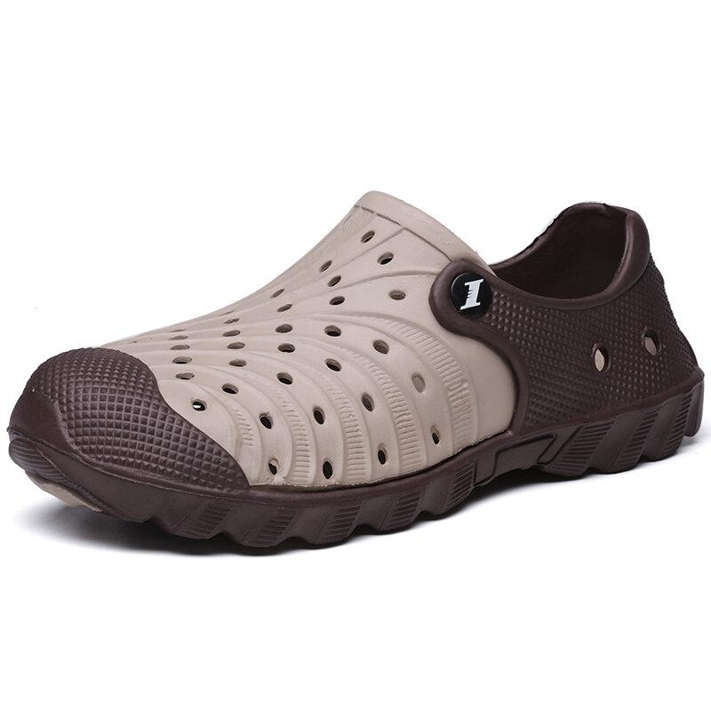 Men EVA Hole Light Weight Casual Beach Sandals