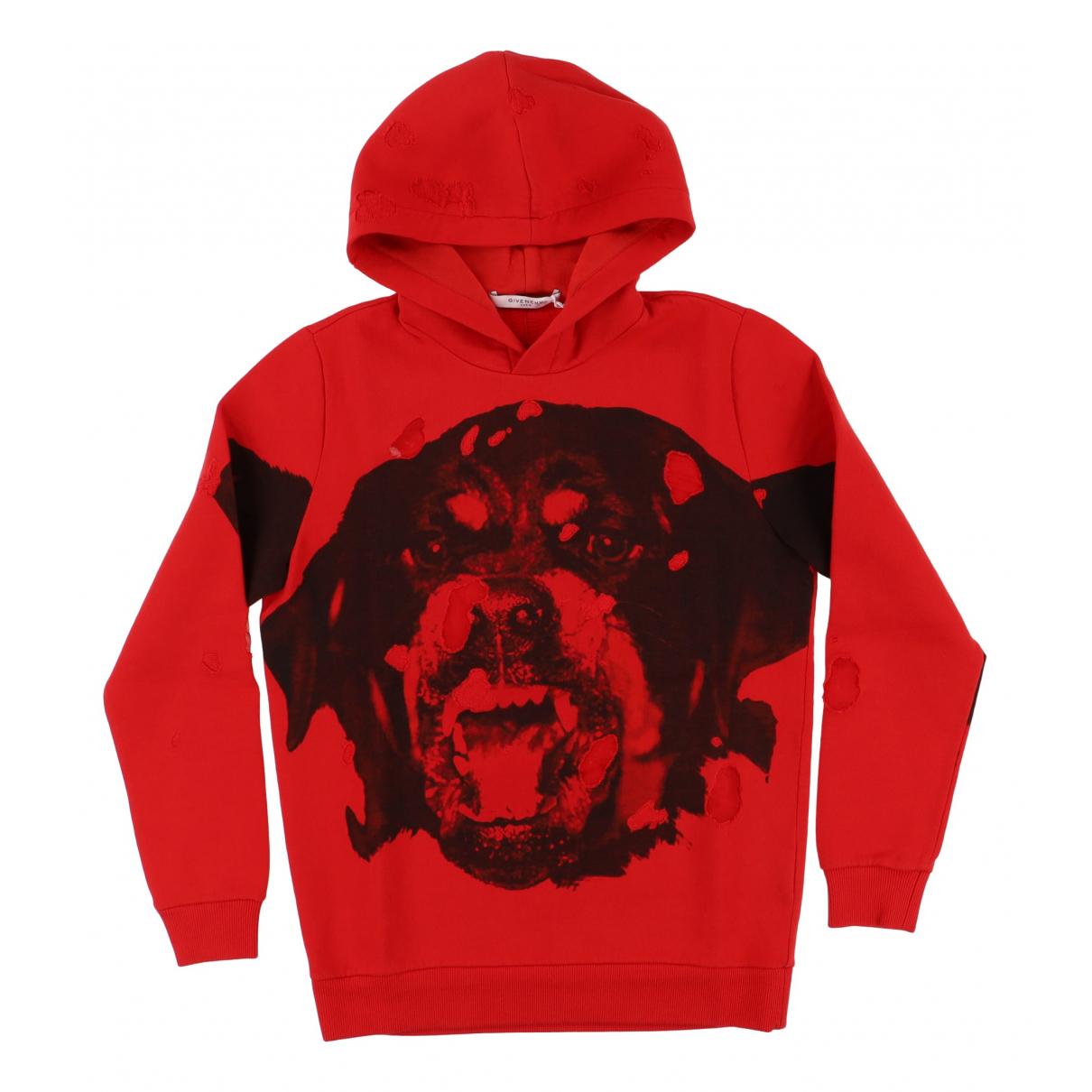 Givenchy \N Red Cotton Knitwear & Sweatshirts for Men XXS International