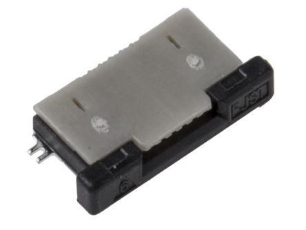 JST FLZ 0.5mm Pitch 6 Way Right Angle SMT Female FPC Connector, ZIF Top Contact (2800)