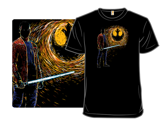 Starry Rebel Knight T Shirt