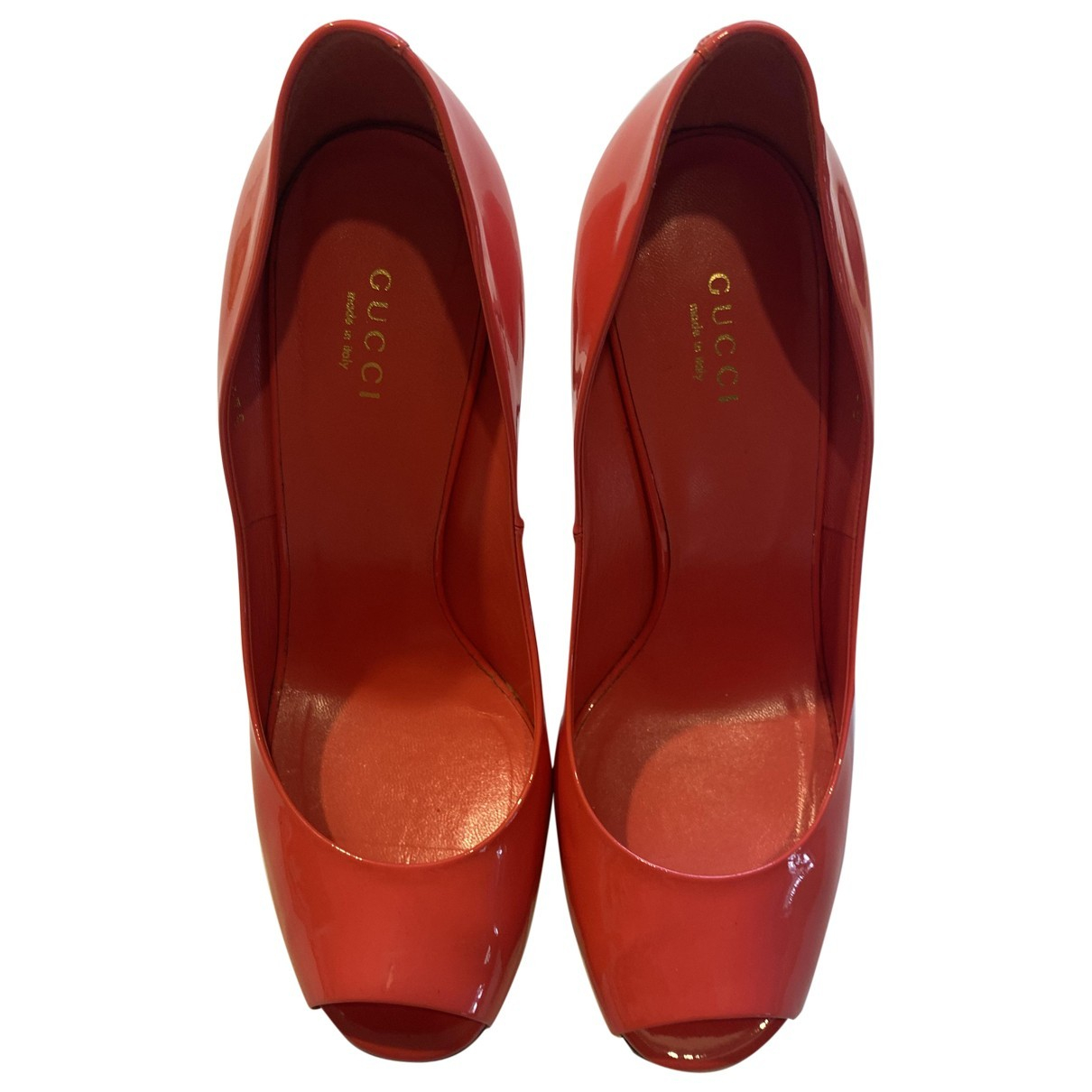 Gucci \N Patent leather Heels for Women 38 EU